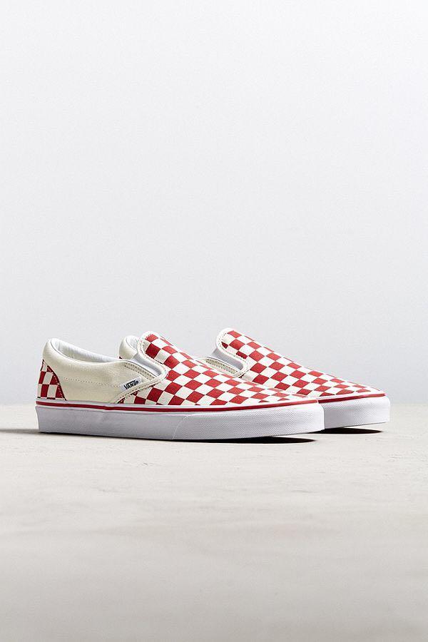 32b59d21fad5ba Vans Checkerboard Slip On