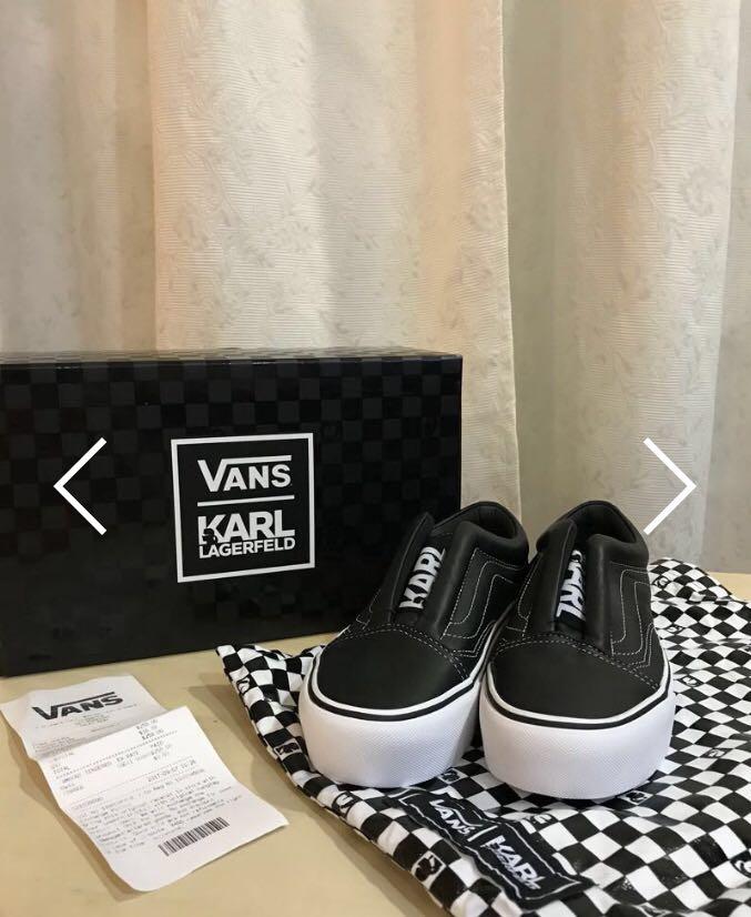 bf0ebc9078 Vans x Karl Lagerfeld