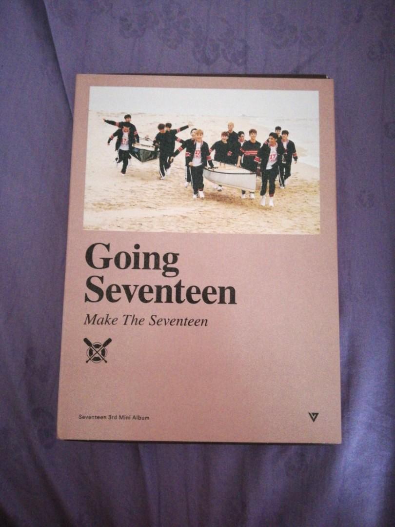 Wts Seventeen Going Make The Album Mini 3th Photo