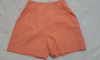 Hotpants peach