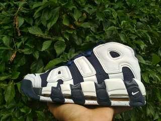 Sepatu Nike Air Uptempo Blackwhite