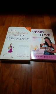 Brand new 2 Pregnancy guidebooks
