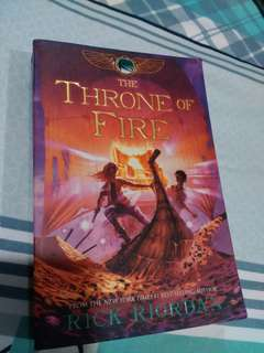 Kane Chronicle: The Throne of Fire