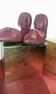 Narcissa sheepskin shoes