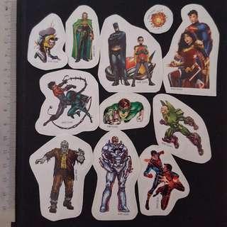 🚚 C5A DC Comic Super Heroes Sticker Stickers