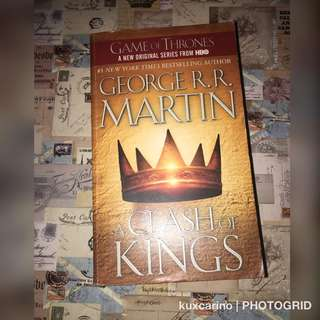 Song of Ice and Fire Book 2: A Clash of Kings