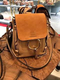 Chloe mini backpack*brand new*
