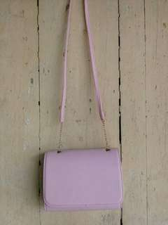 Mini clutch - warna pink
