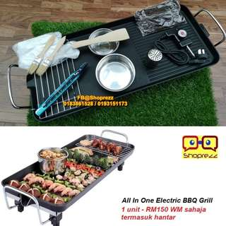 All In One Electric BBQ Grill