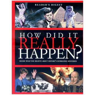 How Did It Really Happen ? ~ Hardcover ~ Brand New