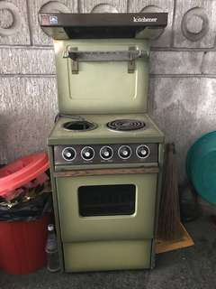 Electric 2 burner stove