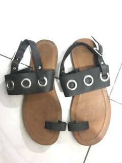 H&M real leather sandals