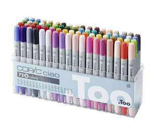 Copic Markers 72 Set B