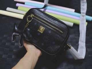 MCM Sling Bag Black