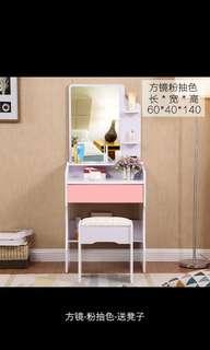 梳妝台卧室化妝台簡約多功能化妝桌收藏盒小型網红化妝櫃歐式