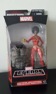 Marvel Legends Misty Knight with BAF