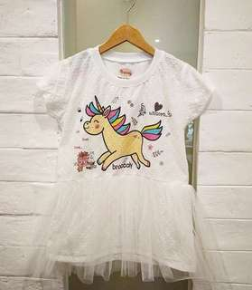 DRESS TUTU UNICORN ANAK IMPORT BANGKOK