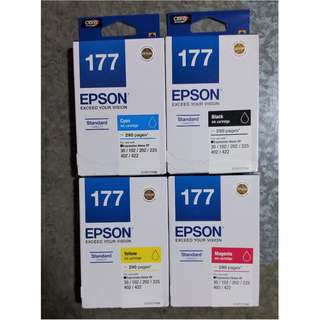 Original EPSON 177 Ink Cartridges (YELLOW ONLY)