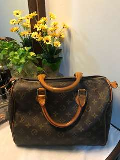 LV Speedy 30 Not authenthic japan bundle