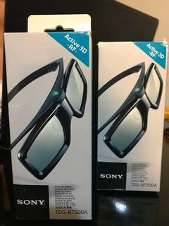 Sony Active 3D Glasses TDG-BT500A