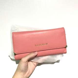 Dompet Panjang Pink Yodas Leather