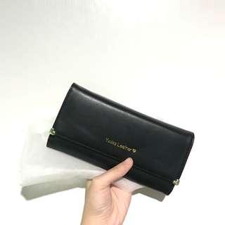 Dompet Panjang Yodas Leather Black