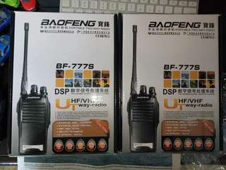 Baofeng BF-777s package deal (1pair)