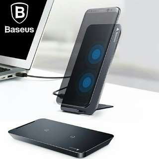 Docking charger baseus qi wireless charger