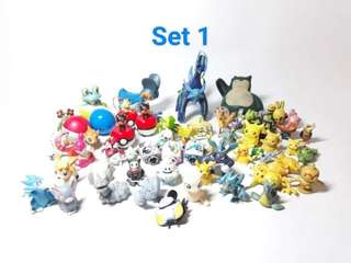 219 pcs Assorted Pokemon Toys (Free shipping if all)