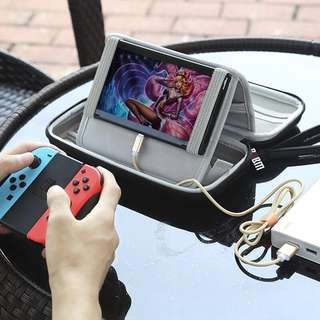 [BN] *instock* BUBM EVA Hard Travel Case with Stand Holder for Nintendo Switch