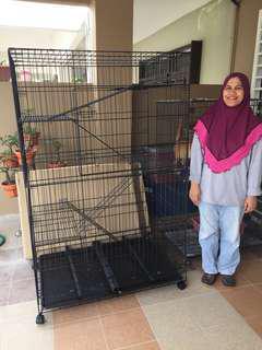 Sangkar Kucing Giant