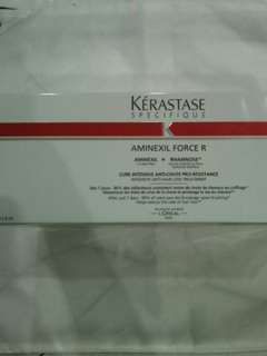 Brand New Kerastase Specifique Aminexil Force R Intensive Anti -Hair Loss Treatment