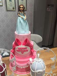 Fondant Princess Cake Sample