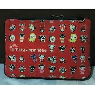 """Punchdrunk Panda """"Turning Japanese"""" laptop sleeve case"""