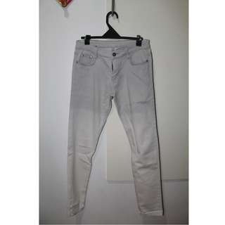 Ombre Gray-White Pants