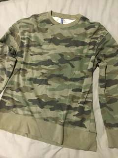 Sweater oversized HnM Camo