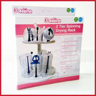 🌟 BNIB Bambino 2 Tier Spinning Drying Rack