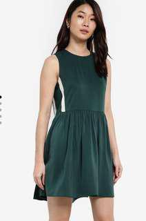 Zalora Contrast Side Stripe Dresses