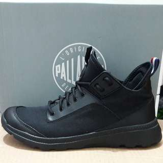 Sepatu Boots Palladium Desvilles all Black original size 40