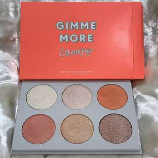 COLOURPOP I LIKE YOUR FACE GIMME MORE! PRESSED POWDER HIGHLIGHTER (6x3.6g)