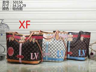 New Lv bag design with small pouch  pre order  950 plus shipping fee  Cash on delivery by post office