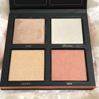 HUDA BEAUTY 3D HIGHLIGHTER PALETTE #Pink Sands