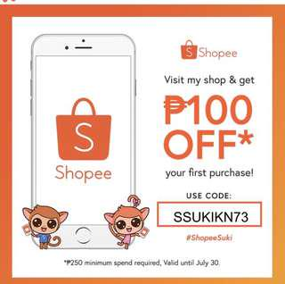 Get a 100 PHP discount on your first order