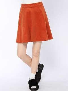 🚚 Free mailing! Wego Japan Orange Skater Skirt