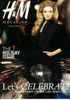 H&M Magazine: Winter 2008/09 issue