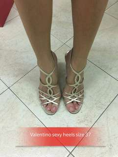 Valentino sexy heels size 37