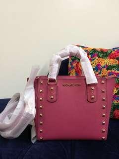 Michael Kors Sandrine Stud Leather
