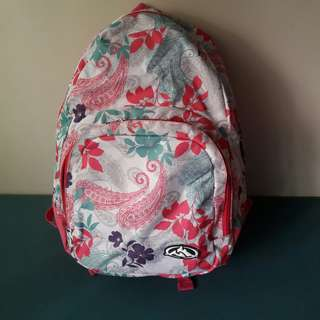 MONTAÑA Floral School/Travel Backpack