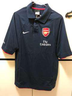 阿仙奴 Arsenal polo shirt cotton 阿仙奴 細碼 size S