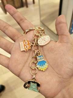 💯 Fossil keychain